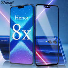 Full Cover Tempered Glass For Huawei Honor 8X Screen Protector Whole Glue Safety Phone