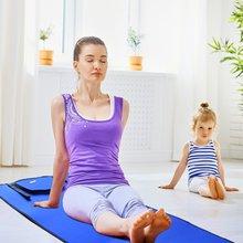 RANKA Non Slip TPE Yoga Mat for Hot Pilates Gymnastics Bikram Meditation  Thick f39e585ef5f26