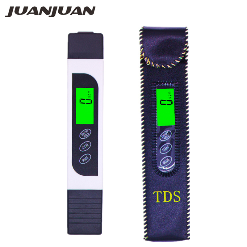 10pcs lot 3 in 1 EC TDS Meter Water Quality Tester Analyzer aquarium water Monitor Acidometer