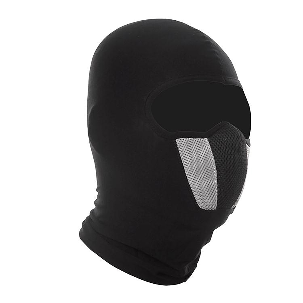 Windproof Balaclava Hood Moto Bicycle Cycling Mask Dust Protection Motorcycle Face Mask Full Face and Neck Coverage full face lycra protection balaclava headwear neck cycling motorcycle mask
