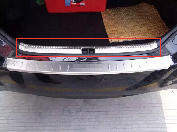 For Toyota camry 2015 Car Accessorie Built-in rear bumper foot plate car styling not fit for North-America style