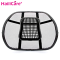 New Car Seat Office Chair Massage Back Lumbar Support Mesh Ventilate Cushion Pad Black High Big Size