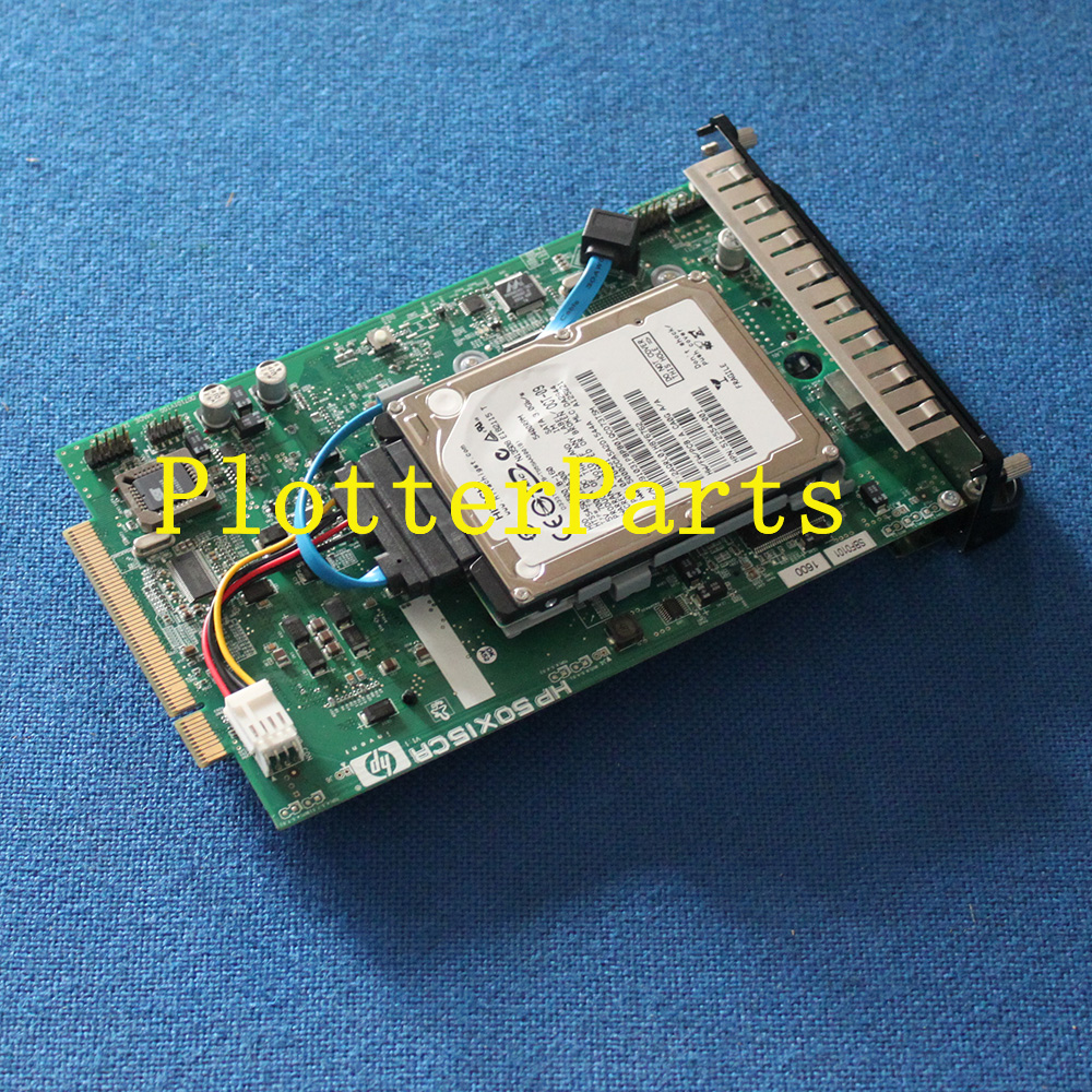 Q6711-67004 Formatter card with Hard drive (HDD) HP DJ T610 T1100 T1100PS T1100 MFP Original used for hp1100 t1100ps t610 40g hard drive hdd formatter without new q6683 67027 q6683 67030 q6684 60008 q6683 60193 q6683 60021