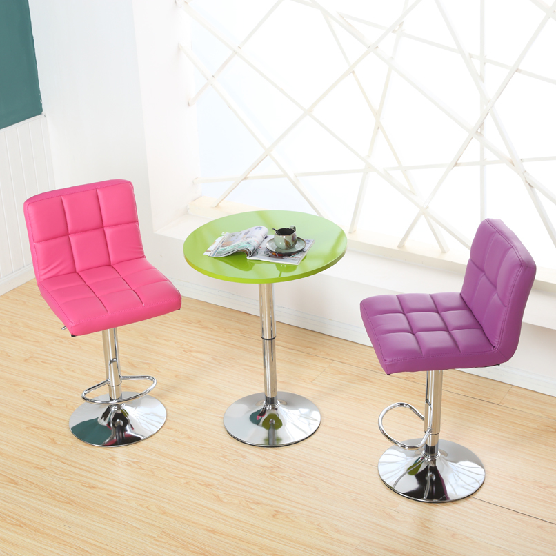 Promotion simple fashion bar chair recreational lifting chairs stool soft comfortable free shipping