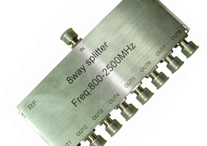 free shipping for 800-2500MHz 8 way splitter
