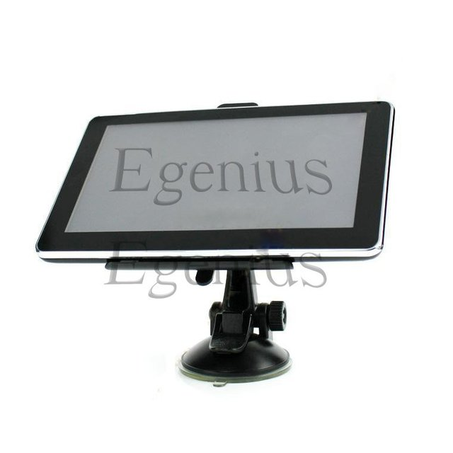 7 Inch HD GPS Navigation System, Slim GPS bluetooth function FM+AV IN MAP 2GB car gps navigator with Map
