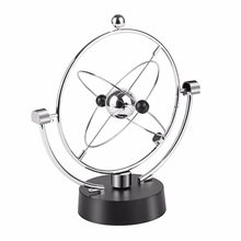 Fashion Magnetic Swing Kinetic Orbital Craft Decoration Perpetual Balance Celestial Globe Newton Pendulum Educational Tools(China)