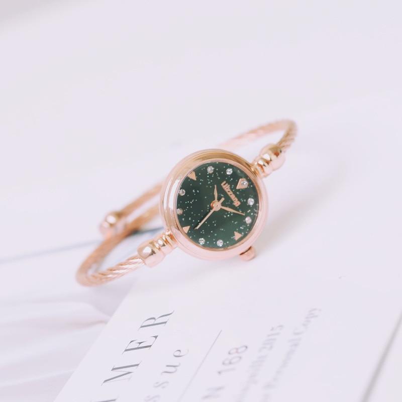 Simple Women Watches Elegant Small Bracelet Female Clock Fashion Brand Retro Ladies Wristwatches Gift Women 39 s Watch Reloj Mujer in Women 39 s Watches from Watches