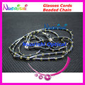 free shipping L827 nice beaded eyeglasses sunglasses eyewear spectacle chain cords