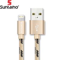 Suntaiho USB Cable Lighting USB Cable Fast Charging Mobile Phone Cable 50cm/1.2m/2m/3m USB Data Cable for iPhone 7 7plus 6s