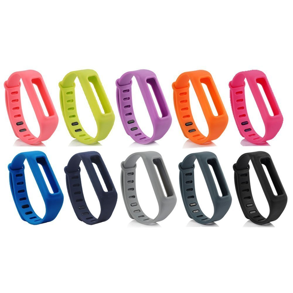 (FBONESS) Many Colors Sillicone Smart Wristband Replace Bracelet Replacement Band Accessories For Fitbit One No Tracker