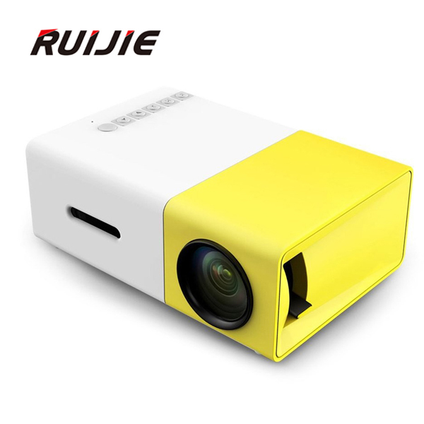 ФОТО 2016 The Newest Mini YG300 LCD Projector 400 - 600 Lumens 320 x 240 Pixels 3.5mm Audio/HDMI/USB/SD Inputs Media Proyector/Beamer