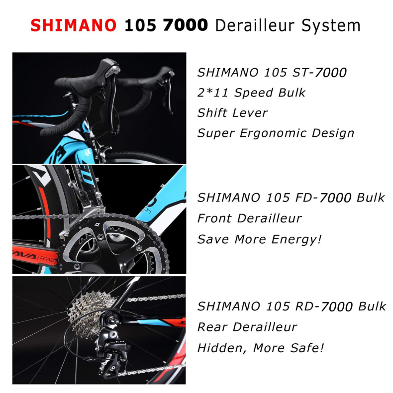 HTB1TMy6XUzrK1RjSspmq6AOdFXaN SAVA Road Bike 700c Carbon Road Bike Speed Carbon Road Bicycle Carbon Bike with SHIMANO 105 R7000 EU Taxes free Velo de route