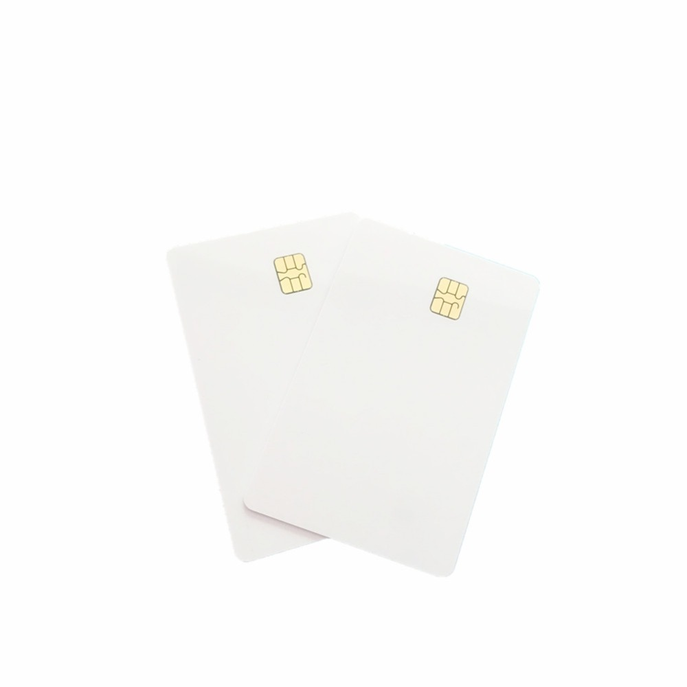 Contact SLE4442 Chip ISO7816 PVC Smart IC Card 10PCS