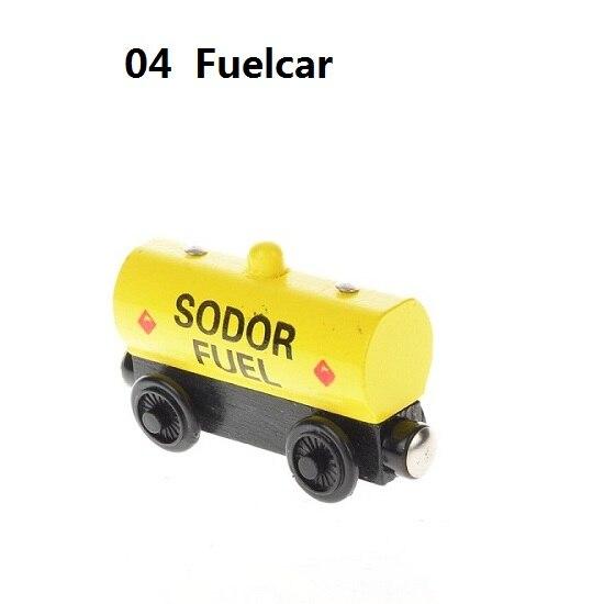 Деревянные магнитные паровозики, игрушки для железной дороги, деревянные паровозики для детей, подарок для детей, модель поезда - Цвет: Бургундия