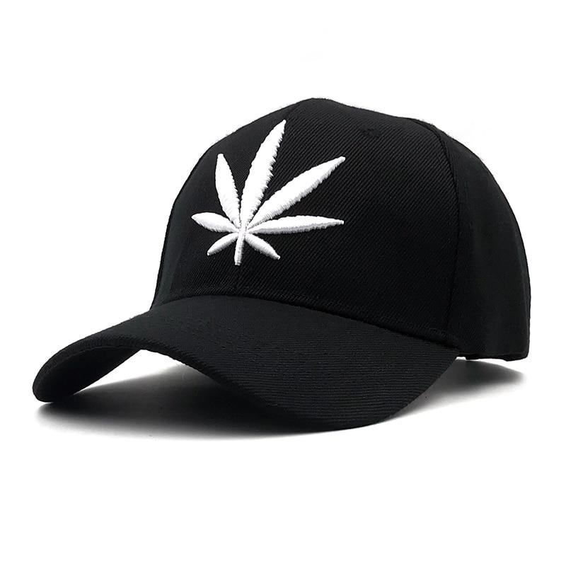 3D Embroidery Weed   Cap   Fahion Brand Hip Hop Men Women   Baseball     Caps   2019 Snapback Hats Street Dance   Cap   Adjustable Bone Casual