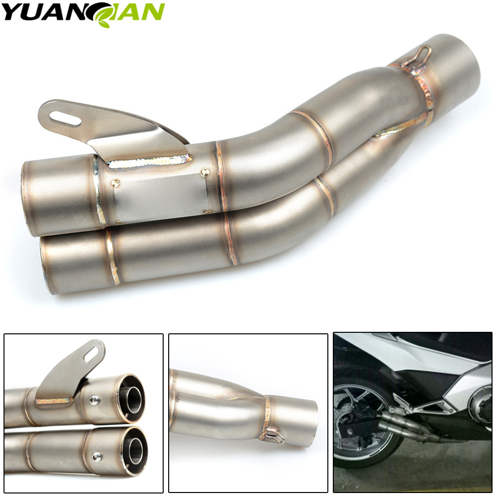 35-51mm Universal Motorcycle Double Exhaust Muffler Pipe For KAWASAKI Ninja ZX6R ZX7R ZX9R ZX10R ZX12R ZX14R Z1000 Z750 ZZR motorcycle extendable folding cnc brake clutch levers for kawasaki zx6r zx636r zx6rr zx9r zx10r zx12r zzr600 z1000 versys 1000