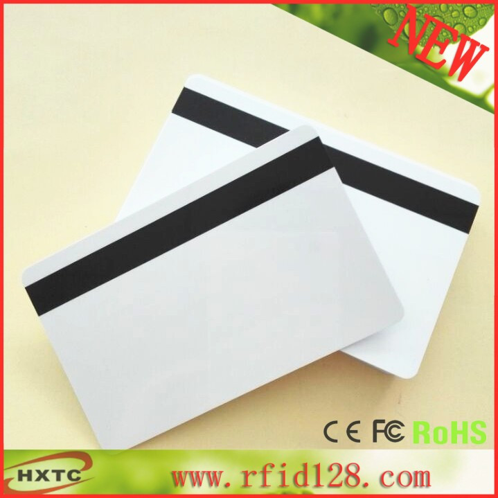 50PCS/LOT PVC blank 8.4mm 2 track Hi-co Magstripe card support standard ISO Hi-Co 2750 /3000/ 4000 Oe and customable 200pcs lot customable 8 4mm mag stripe 2 track pvc smart ic card for iso hi co 2750 3000 4000 oe
