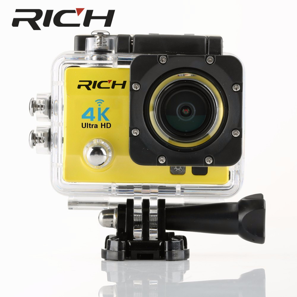 4 K Wifi Camera Action SJ8000R 4 K/30fps 1080 P/60fps 720 P/120fps 2.0