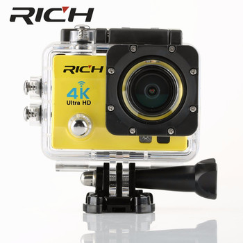 4K Wifi Action Camera SJ8000R 4K/30fps 1080P/60fps 720P/120fps 2.0