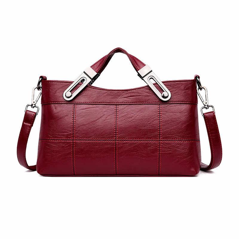 Luxury Women Leather Bag Tote Crossbody Bags For Women 2018 Designer  Handbags High Quality New Shoulder da3c3413f85c6