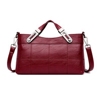 Luxury Women Leather Bag Tote Crossbody Bags For Women 2018 Designer Handbags High Quality New Shoulder Bag Ladies Hand Bags Sac