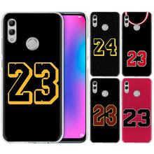 Basketball 23 24 Number Case for Huawei Honor 8X Y9 20 9 10 Lite Play 8C 8A Pro V20 20i Y6 Y7 Y5 2019 Hard PC Phone Cover Casos(China)