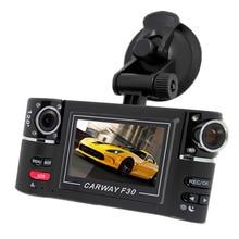 """F30 Best DVR Камера 2.7 """"TFT с двумя объективами 170 градусов поворачивается объектив автомобиля вождение цифровой видео Регистраторы Ночное видение видеокамера"""