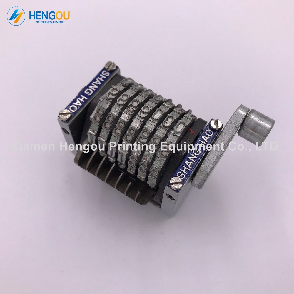 10 Pieces 7 Digits Horizontal Gto Numbering Machine With Last Three Wiring Transformers Backwards Bits Sinkable Jump 0987654 Backward 223 Numerators In Printer Parts From Computer