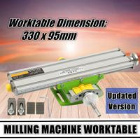 New 2 Axis Multi Functional Cross Working Table Mini Slide Table Support For Drilling Milling Machine