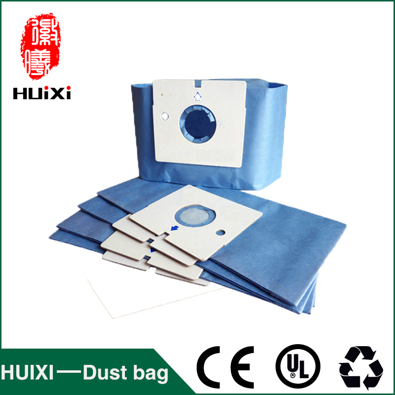 Blue paper dust bags and change bags of household vacuum cleaner parts with high efficiency for V-3700Y V-3710Y V-3710R etc dust bags and dust bucket of vacuum cleaner parts with high efficiency for vt02w 09b t3 l201b etc