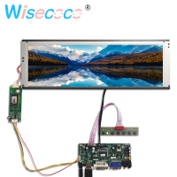 HDMI DVI VGA LCD Controller Board With 14.9 inch LTA149B780F 1280x390 LCD Display screen display