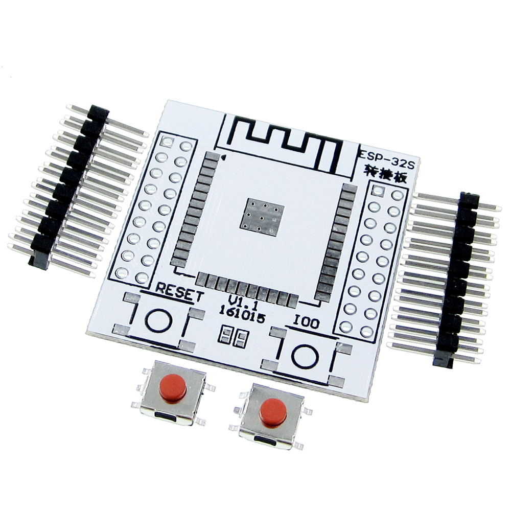 <font><b>10Pcs</b></font> <font><b>ESP32</b></font> ESP32S Pinboard Convertor Module ESP-32 Adapter Board Support for ESP-32S Wireless WIFI Bluetooth Module image