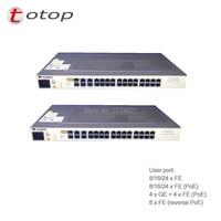 Huawei MA5626 24FE EPON AC Мощность терминал ОНТ с 24 портами ethernet применяется к FTTB ОНУ