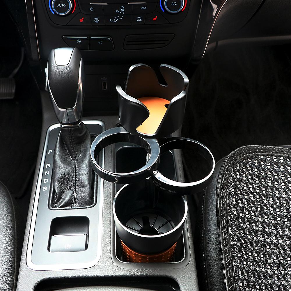HTB1TN08cACWBuNjy0Faq6xUlXXae - Car-styling Car Organizer Auto Sunglasses Drink Cup Holder Car Phone Holder for Coins Keys Phone Stand Interior Accessories