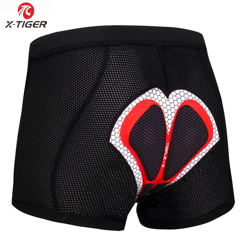 Cycling Underwear Upgrade 5D Padded Short 100/% Lycra Shockproof Bicycle  2019