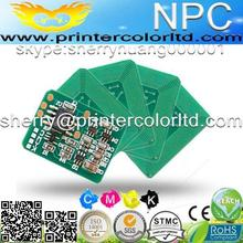 43837133~43837136 compatible laser printer toner reset cartridge chip for OKI C9655 used for MEA RU IN version