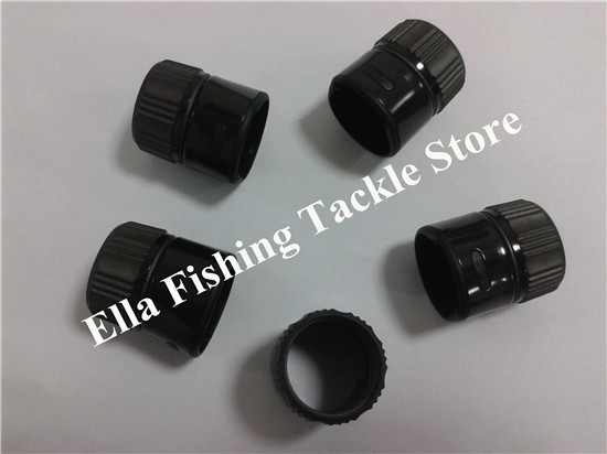 FUJI DPS-ASH  Reel Seat Nut    Top Grade Graphite Reel Seat Nut - Fishing Rod Components  16# Black Color 5pcs/lot