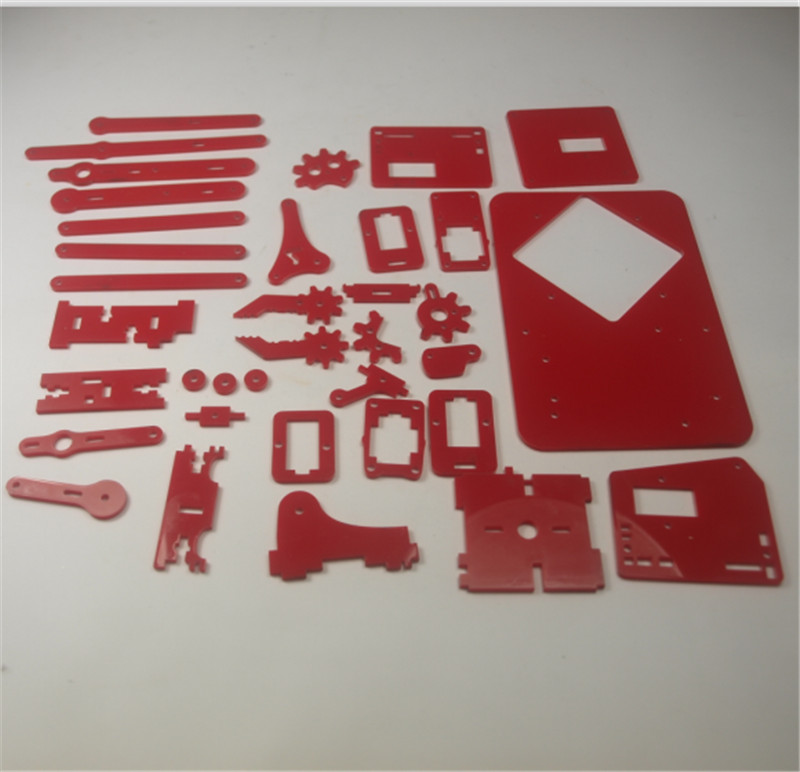 Mearm Your Robot Arm Acrylic Kit/set Pocket Size Robot Arm Laser Cut Plate Kit