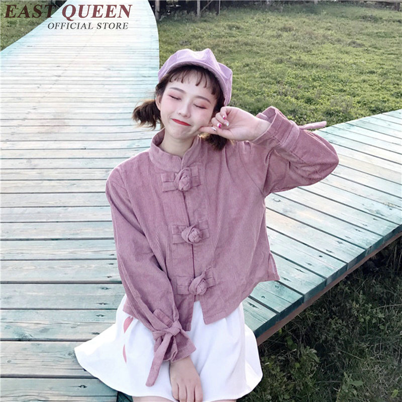 Harajuku kawaii 2018 clothing kawaii shirt teens harajuku style traditional chinese clothing for women teenagers DD147 C