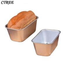 CTREE 14.7cm*8.9cm*6.5cm Rectangular DIY Baking Tool 6 Inch Toast French Bread Non-stick Aluminum Baking Mold Cake Kitchen C262 цена