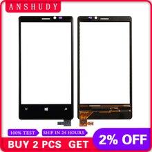 defdb0297b2 Para Nokia Lumia 920 N920 digitalizador de la pantalla táctil del Sensor  del Panel reemplazo de vidrio