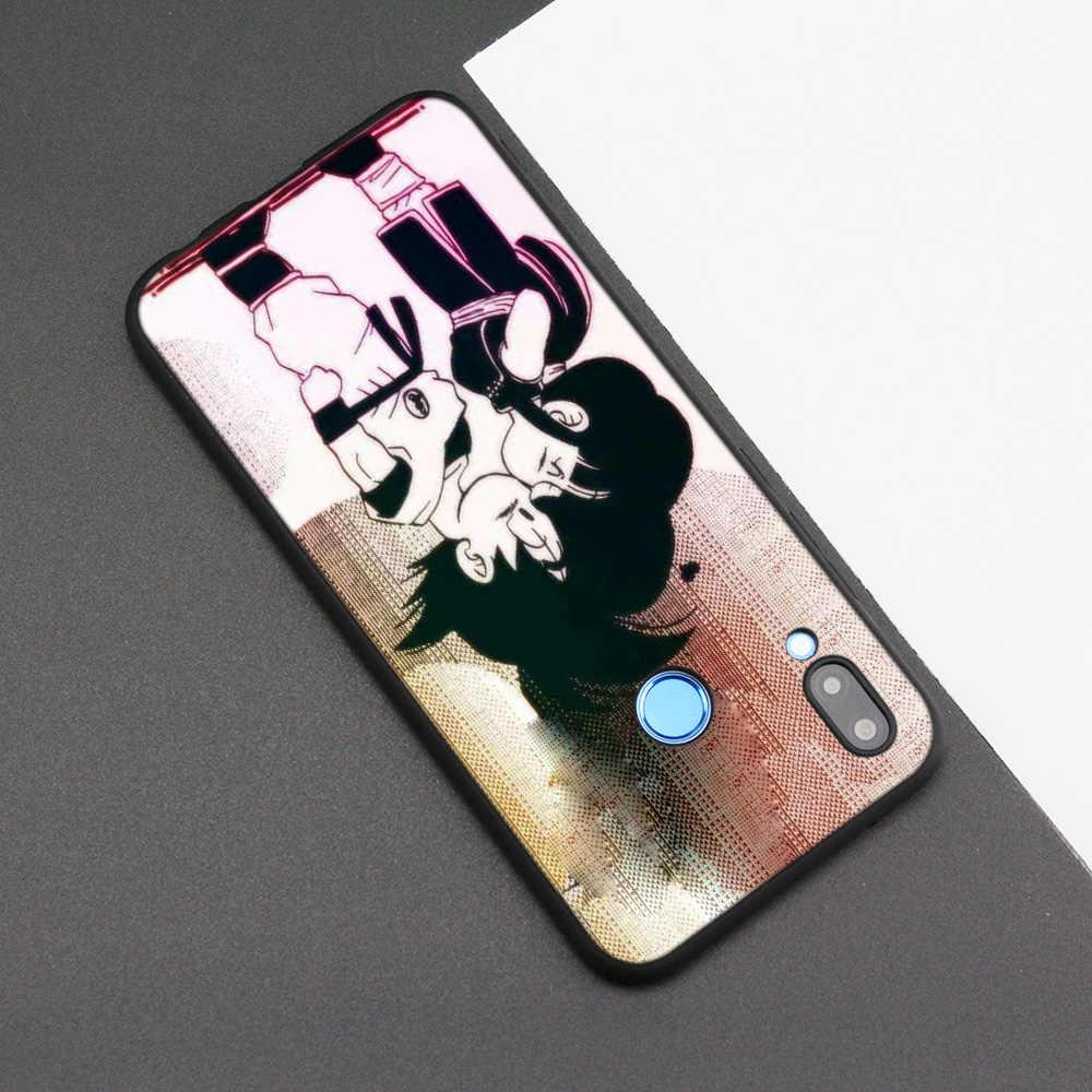 Silicone Case Cover for Huawei P20 P10 P9 P8 Lite Pro 2017 P Smart+ 2019 Nova 3i 3E Phone Cases dragon ball super z funny