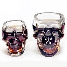 1pcs Bones Armor Warrior Skull Designed Skull Cup Wine Beer Glass Gothic Barware Drinkware Accessories