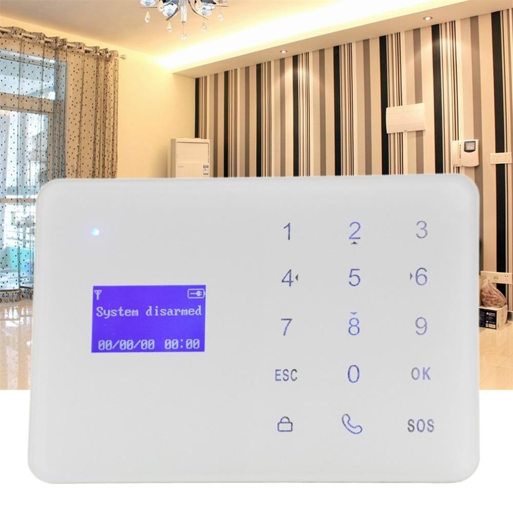 YA-700-GSM GSM Alarm System Set LCD Alarm Panel Home Security Alarm Host Built-in Artificial Intelligent English Message купить в киеве gsm прослушку