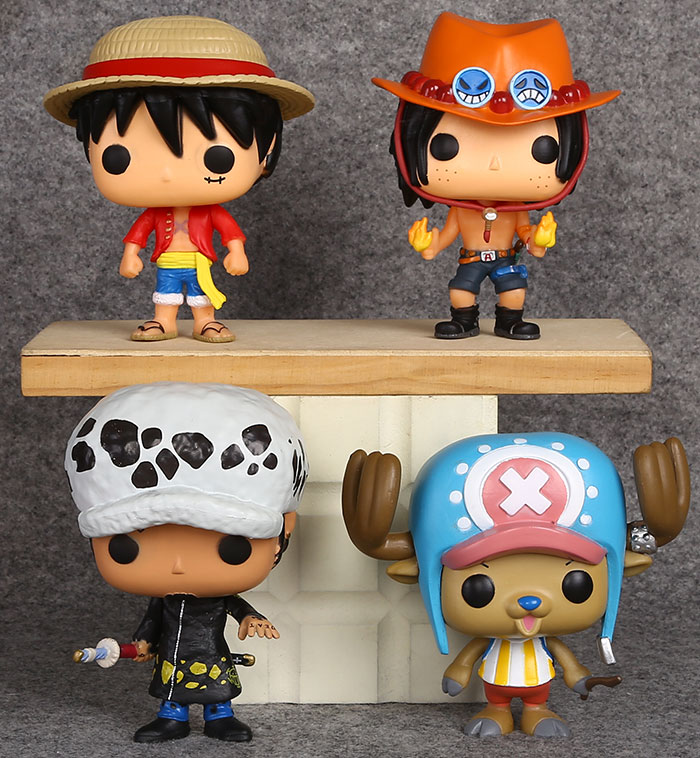 Funko Collectibles Funko POP Anime Luffy 98 Vinyl Figures w/Protector Case One Piece yoshida-shika.net