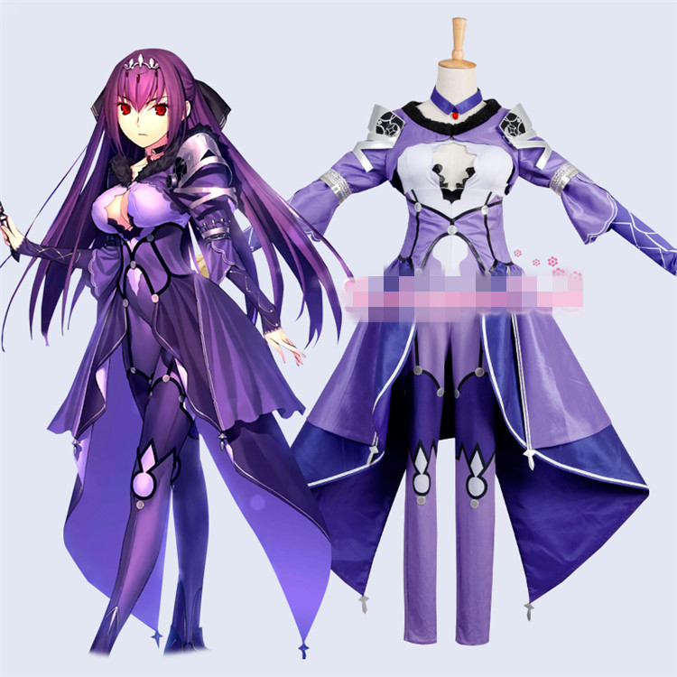 Scathach FGO2 Cosplay Fate/Grand Order Scathach cosplay costume customized halloween costumes for women gift 1