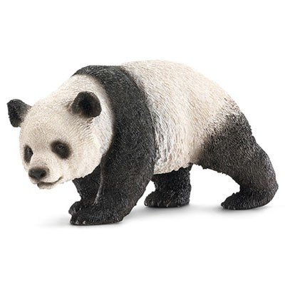 Educational-Toys Figurine Animal-Model Collectible Waking Kids Cute Panda Gift Wild Children
