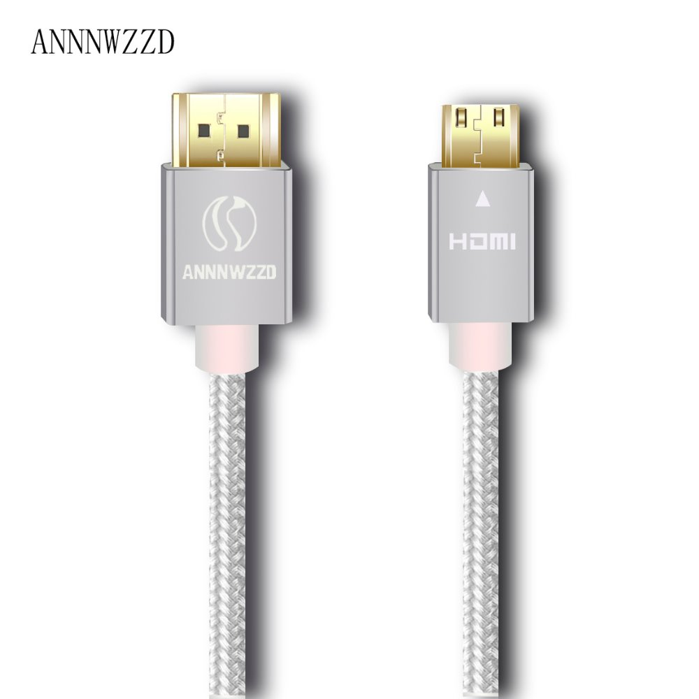 Image 3 - Mini HDMI to HDMI Cable compatible with HDMI 2.0a/b, 2.0, 1.4a (Ultra HD, 4K, 3D, Full HD, 1080p, HDR, ARC, Highspeed-in HDMI Cables from Consumer Electronics