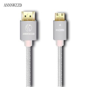 Image 3 - Mini HDMI to HDMI Cable compatible with HDMI 2.0a/b, 2.0, 1.4a (Ultra HD, 4K, 3D, Full HD, 1080p, HDR, ARC, Highspeed